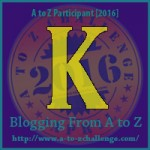 April A-Z Challenge: K for Kennington Reservoir
