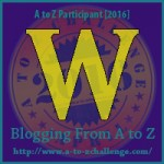 A-Z Challenge: W for Weeroona
