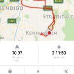 Recent training walks