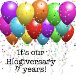 It's our blogiversary