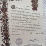 Compostela & Certificate of Distance