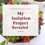 My Isolation Project Revealed