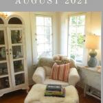 August Book Corner 2021